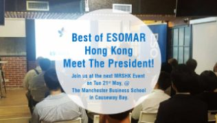 Best of ESOMAR Hong Kong-Meet the President